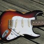 """Fender USA Strat (""""TexBurst"""")"""