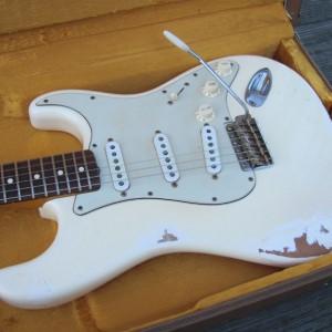 """Fender Strat """"62 Oly White"""""""