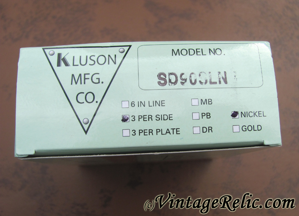 Kluson Tuners (1956-1959) 3L3R [aged] | Vintage RelicGuitar relic ...