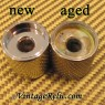 Flat top Knobs ('60s) for Fender Tele Pbass [aged]