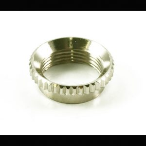 Knurled Deep Nut Nickel [new]