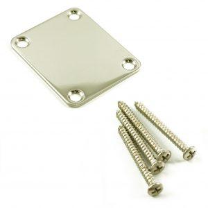 4-hole Neck Plate / Screws for Fender [new]