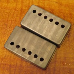 Humbucker Covers (pair) Nickel [aged]
