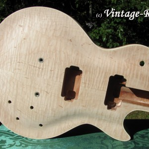 Honduran Mahogany BODY (older growth) for Gibson Les Paul style '59 Burst #1399 [sold]