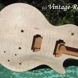 Honduran Mahogany BODY (older growth) for Gibson Les Paul style '59 Burst #1397 [sold]