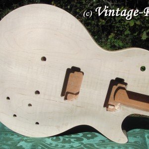 Honduran Mahogany BODY (older growth) for Gibson Les Paul style '59 Burst #1337 [sold]
