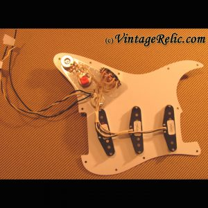 Pre-Wired Strat Pickguard: Fender Custom Shop 54