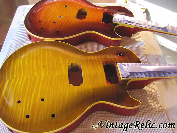 finishing vintage relicguitar relic 39 ing aging aged guitar parts custom guitars wiring harnesses. Black Bedroom Furniture Sets. Home Design Ideas