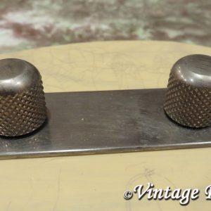 Domed Knobs ('50s) for Fender Tele Nocaster [aged]