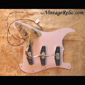 Pre-wired Strat Pickguard: Fender CS Fat 50s