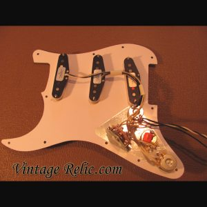 Pre-wired Strat Pickguard: Fender CS Texas Specials