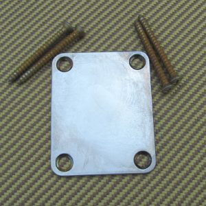 4-hole Neck Plate for Fender [aged]