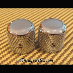 Domed Knobs ('50s) for Fender Tele Nocaster [new]