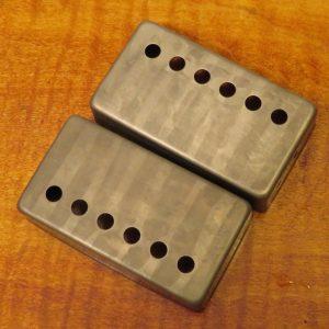 Humbucker Covers (pair) Nickel [aged]