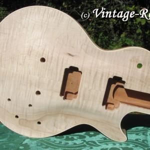 Honduran Mahogany BODY (older growth) for Gibson Les Paul style '59 Burst #1397 [sold]