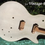Honduran Mahogany BODY (older growth) for Gibson Les Paul style '59 Burst #1337 [sold]