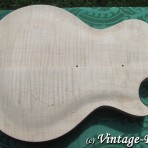 Honduran Mahogany BODY (older growth) for Gibson Les Paul style '59 Burst CHAMBERED [sold]