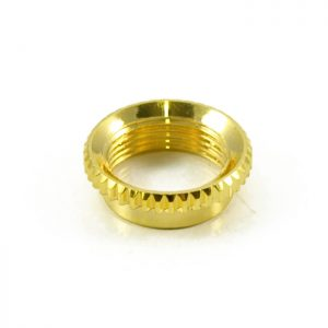 Knurled Deep Nut Gold [new]